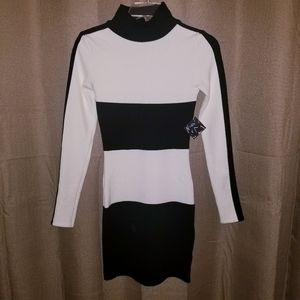 NWT Nasty Gal Bodycon Sweater Dress Sz XS